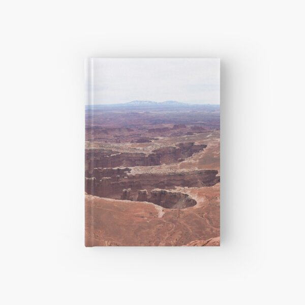 Grand View Point Road - Panorama Hardcover Journal