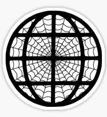 The Internet - The Web - Geek design Sticker