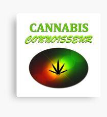 Cannabis Connoisseur Canvas Print