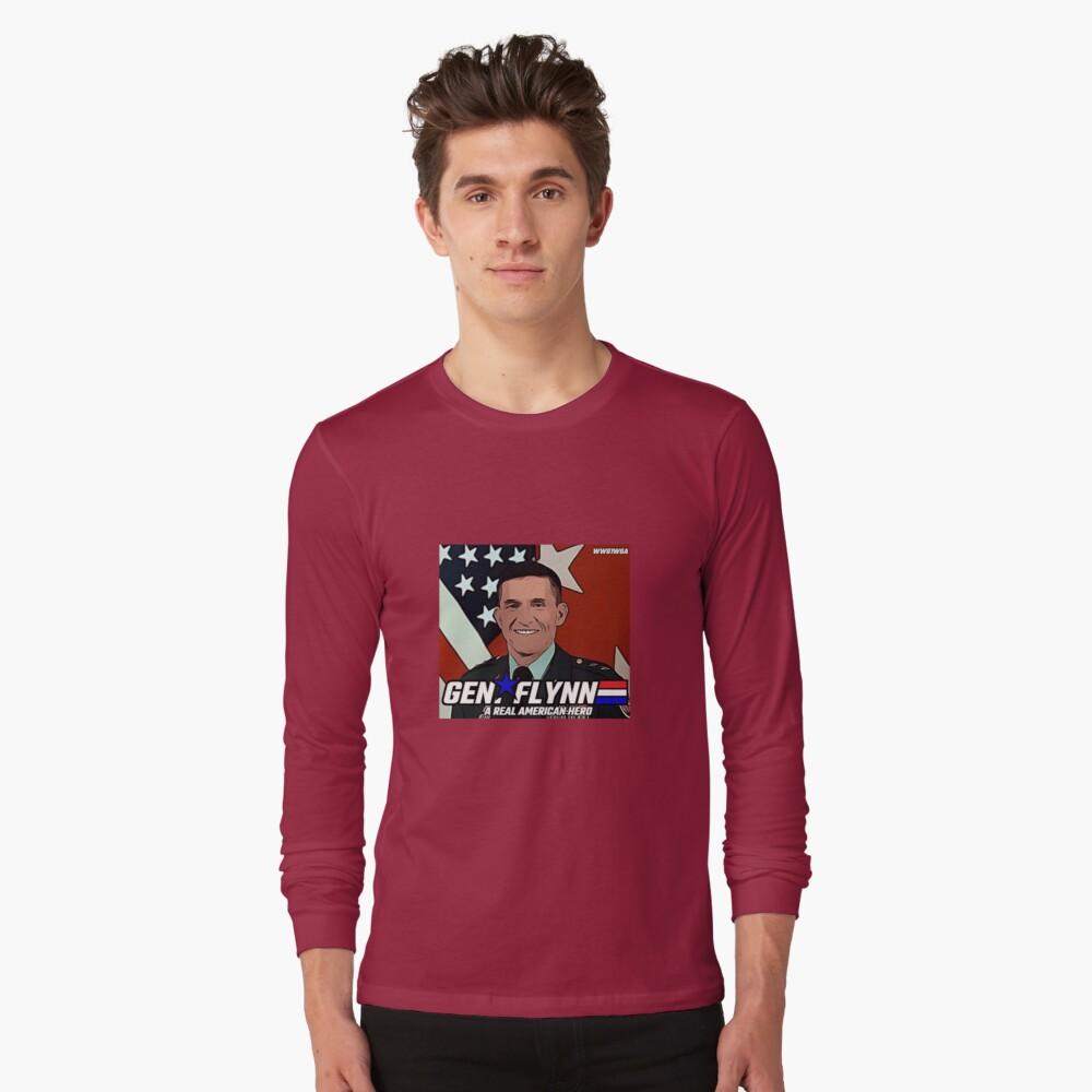 GENERAL FLYNN - REAL AMERICAN HERO Long Sleeve T-Shirt