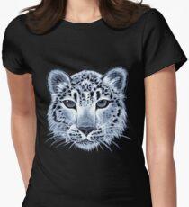 Snow leopard acrylic painting T-Shirt