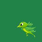 Lime Bird by JordanMDalton