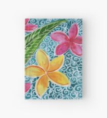 Plumeria Pool Hardcover Journal