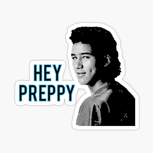 Hey Preppy 2 Sticker