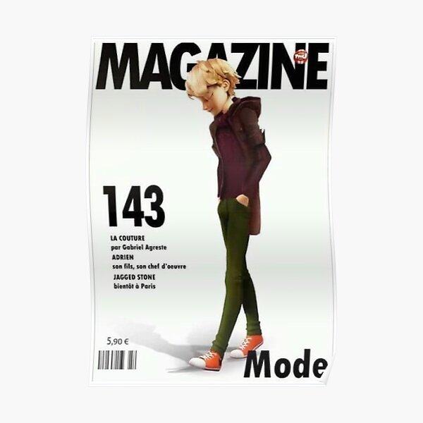 Magazine Adrien Poster