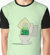 Peridot in the Toilet Graphic T-Shirt