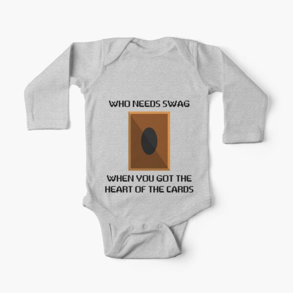 Heart of the cards Long Sleeve Baby One-Piece