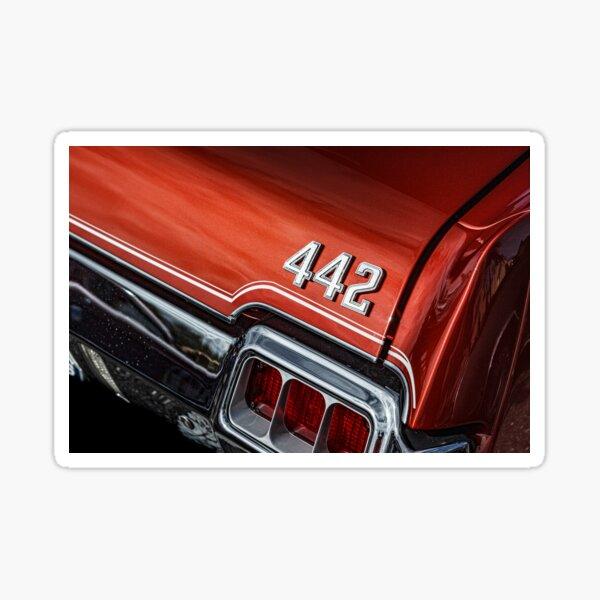 1972 Oldsmobile 442 Sticker