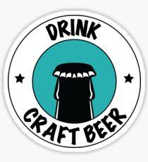 Drink Craft Beer Sticker