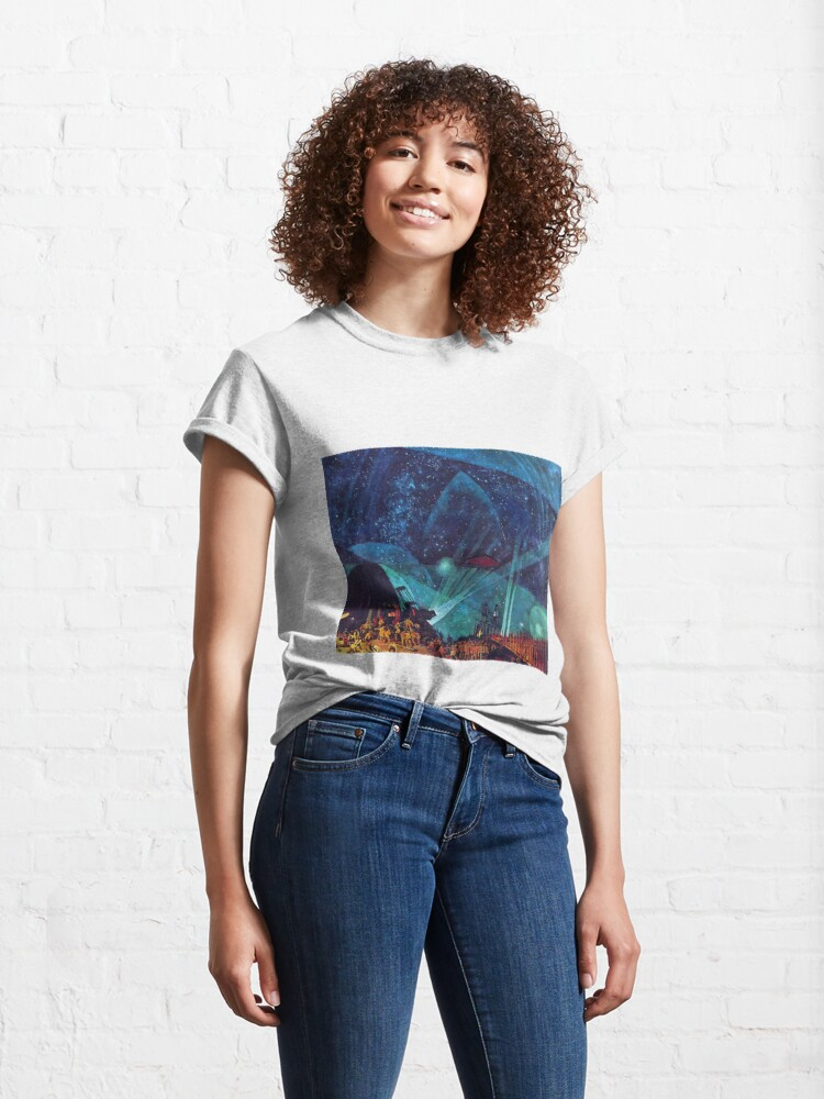 Alternate view of Hypnotic Painting Classic T-Shirt
