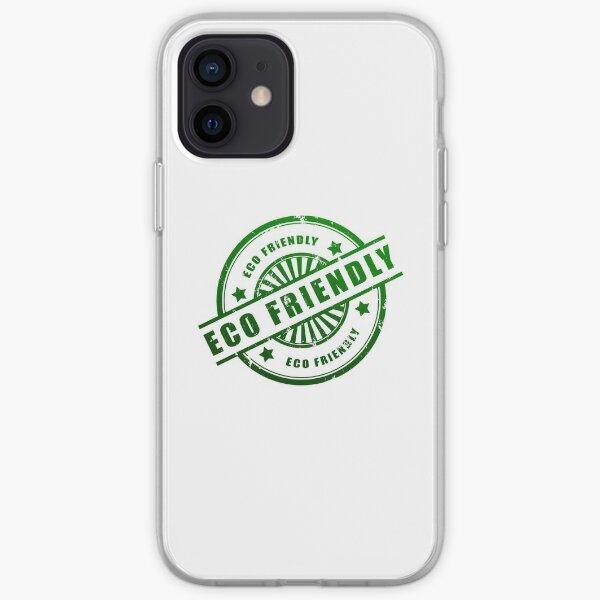 Respetuoso del medio ambiente Funda blanda para iPhone