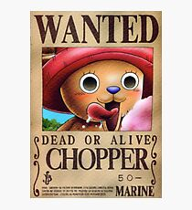 Chopper Wanted Poster Photographic Print