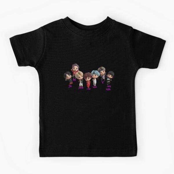 Bts Tiny Tan -Baby Bts- bts tiny tan-bts tiny tan kids -Regalo de Vector Premium para su regalo para niños Camiseta para niños