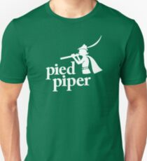 Pied Piper T-Shirts Slim Fit T-Shirt