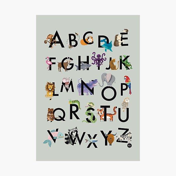 ABC poster Photographic Print