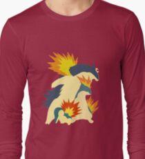Cyndaquil Evolution Long Sleeve T-Shirt