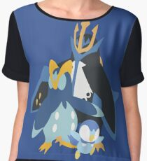 Piplup Evolution Chiffon Top