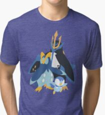 Piplup Evolution Tri-blend T-Shirt
