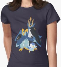 Piplup Evolution Womens Fitted T-Shirt