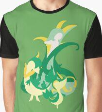 Snivy Evolution Graphic T-Shirt