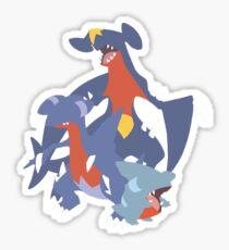 Gible Evolution Sticker