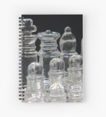 Chess King and Queen Spiral Notebook