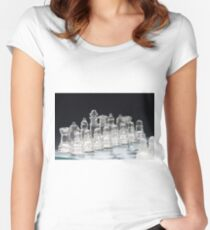 Chess 4 Women's Fitted Scoop T-Shirt