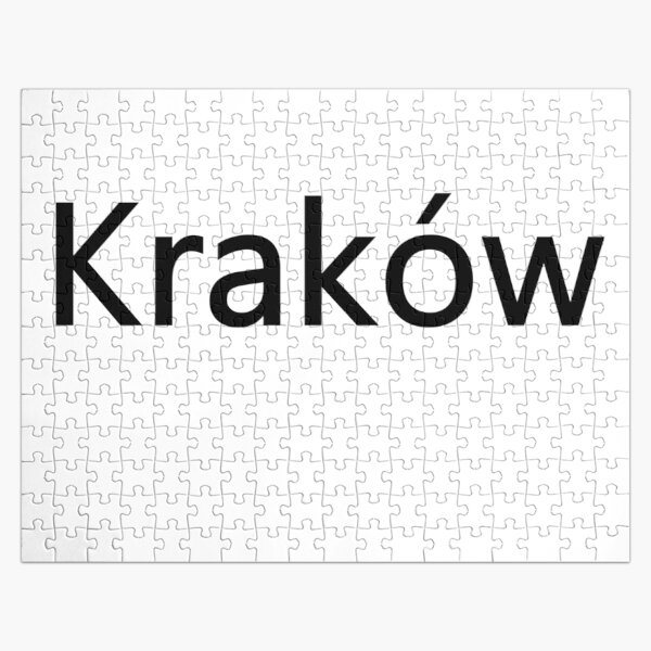 Kraków (Cracow, Krakow), Southern Poland City, Leading Center of Polish Academic, Economic, Cultural and Artistic Life Jigsaw Puzzle