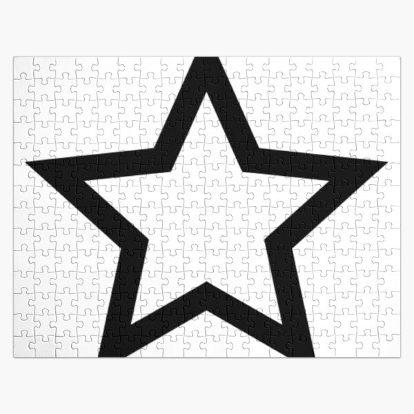 #Star #Symbol  #Sign Jigsaw Puzzle