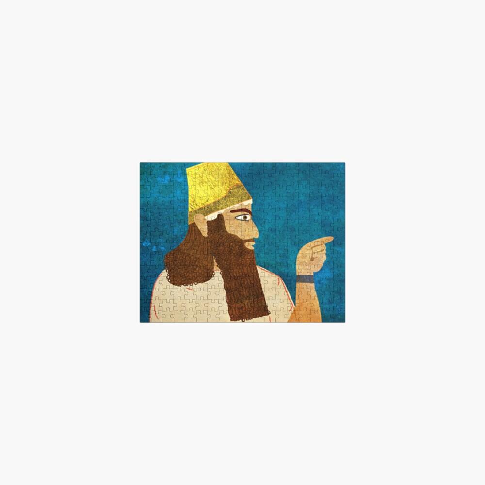 Purim, Haman Jewish, Esther, King Ahasuerus Jigsaw Puzzle