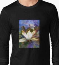 Knightshayes in April (Original painting sold) Long Sleeve T-Shirt