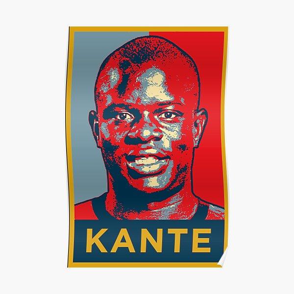 Ngolo Kante Artwork Poster