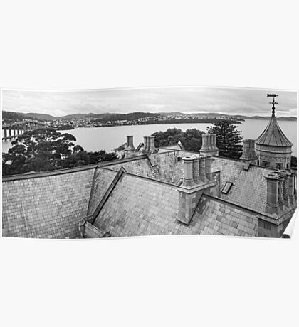 Roof, Government House Tasmania Poster