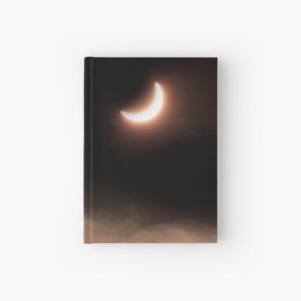 Solar Eclipse 2015 - 09.56am Hardcover Journal