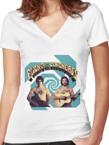 Flight of the Conchords Women's Fitted V-Neck T-Shirt