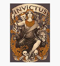 INVICTUS Photographic Print