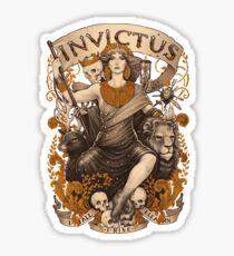 INVICTUS Sticker