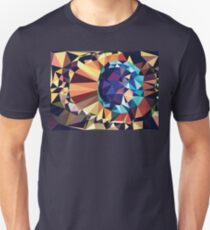 Colorful Geometric Abstraction 2 Unisex T-Shirt