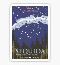 Sequoia National Park. Sticker
