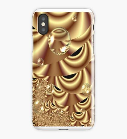 Golden Bubble Highway (iPhone Case) iPhone Case/Skin