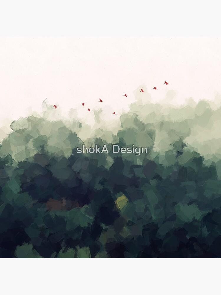 green forest by Ashokanim111