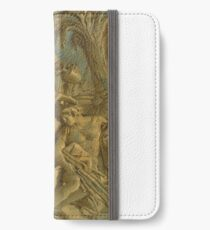 Giovanni Domenico Tiepolo A GROUP OF CLASSICAL FIGURES WITH TWO ELDERS ANOINTING A YOUNG MAN iPhone Wallet/Case/Skin