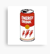 Campbell's energy drink Canvas Print