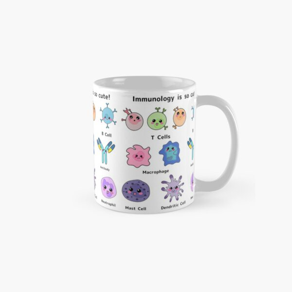 Immunology is so Cute Version 2 Classic Mug