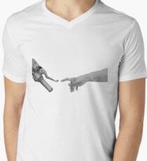 Erstellung der Adam Motorcycle Version T-Shirt mit V-Ausschnitt