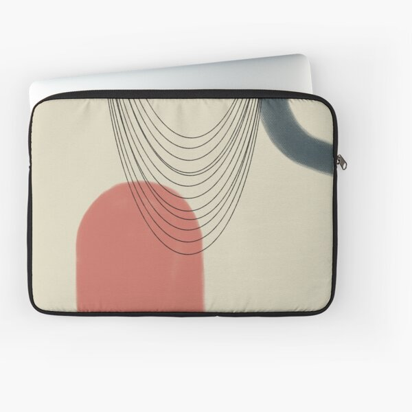 Abstract soft boho pastels Laptop Sleeve