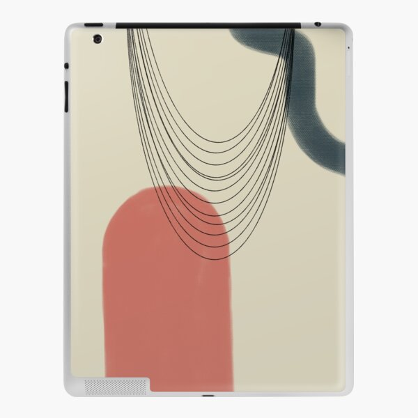 Abstract soft boho pastels iPad Skin