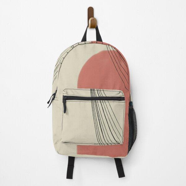 Abstract soft boho pastels Backpack