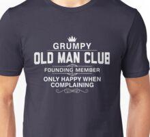 Grumpy Old Man Unisex T-Shirt