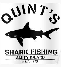 Quints Shark Fishing Posters Redbubble